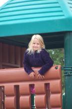 Catheryn enjoying the city park