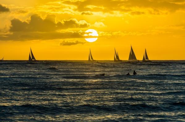 """Hawaii sunset"""