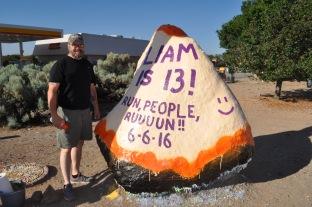 Liam's Birthday on the Rock!