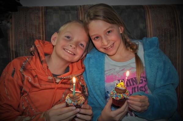 Happy Birthday, Twinnies!